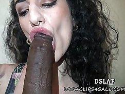 Emmy Alexis In Interracial Facials Scene