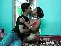 Hot indian couple having fun