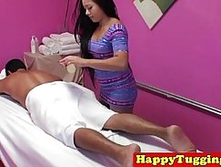 Horny Asian Nuru Massage and Handjob
