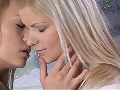 Blonde and teen lesbian orgasms
