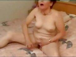 Brazilian grandma masturbating webcam