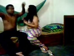 Cheating Indian Girlfriend Rides Dick