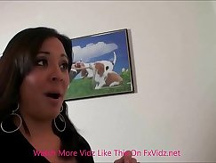 Charming stepmom and her boss make love to stepdaughter