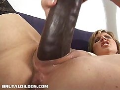 Ass Fucked amateur gets waxed up pussy