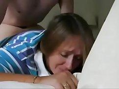 Big ass brunette mom passionate sex