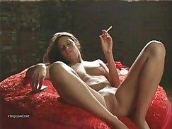 Amateur smoking handle masturbating