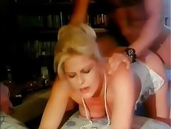 Classy wife banged in taboo trio