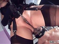 Best pornstars Alicia Rhodes, Harper Page, Ty Bathory, Krystal Rae, Elona Barblay in Horny Anal, Dildos/Toys sex movie
