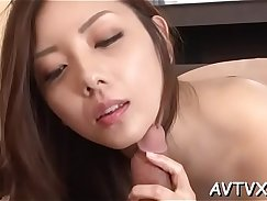 Babe enjoys extra pounding and gives oral sex