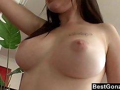 Bigtits pornstar blowjobs the guy in the pool