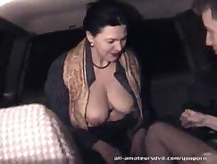 Cheated mature couple homemade blowjob
